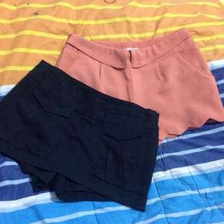 Shortpants and skort ( celana pendek )