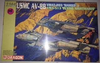 1/144 USMC AV-88. VMAT-203 Hawks & VMA-513 Flying Nightmares