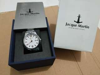 Jam Tangan Jocque Martin Original Stainless Steel 3278 - BARU