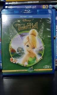 Pre-loved Original Disney Tinker Bell Blu Ray Bluray