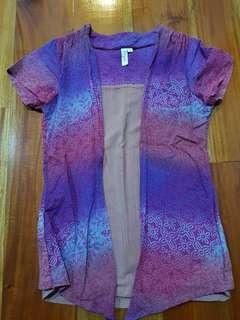 Batik Ruwaida ToP pink ungu