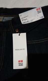 UNIQLO DENIM NAVY BLUE
