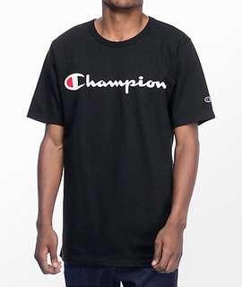 Champion Script Tee Full Tag ORIGINAL