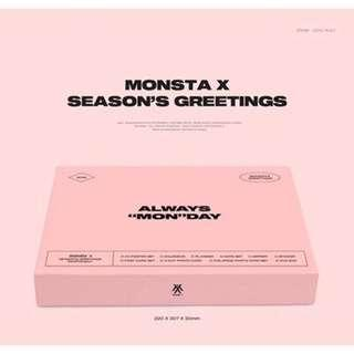 Monsta X - 2019 Season Greeting | SG | PO