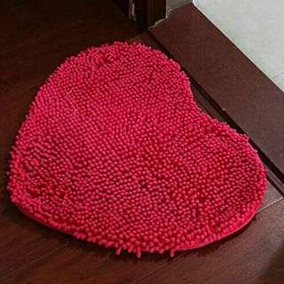 Door Mat / Floor Mat Heart Shape