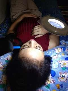 Home service eyelash extensiob