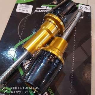 Kawasaki z650 body slider Rm180 Wasap.my/60126135416