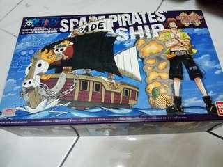 One piece ace spade ship