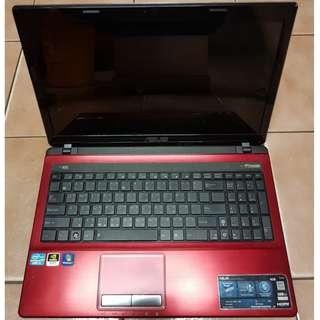 🚚 ASUS 華碩 A53SD-163F2450M 15.6吋 / i5 筆電、不開機《無硬碟、記憶體》整台賣、報帳或維修用