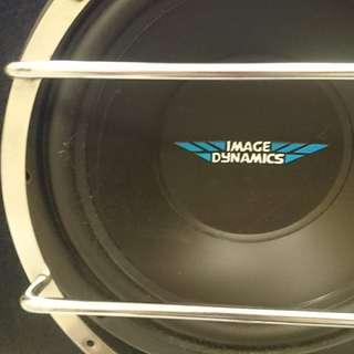 """McLintosh MC440M , Infinity Reference 610A, 12"""" X 2 Image Dynamics Subwoofer"""
