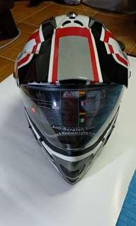 LS2 MX433 Off-road/Scrambler/Touring Helmet with visor