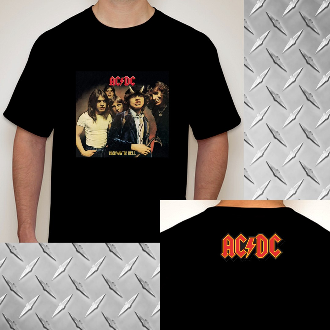 937fbd38843 ACDC Highway to hell tshirt