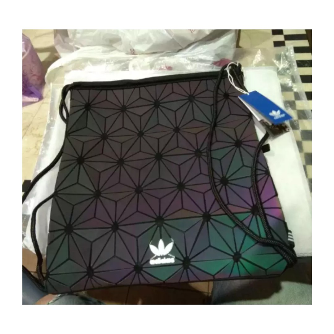 63b3d4aed218 Adidas Rainbow Galaxy Issey Miyake Drawstring Bag