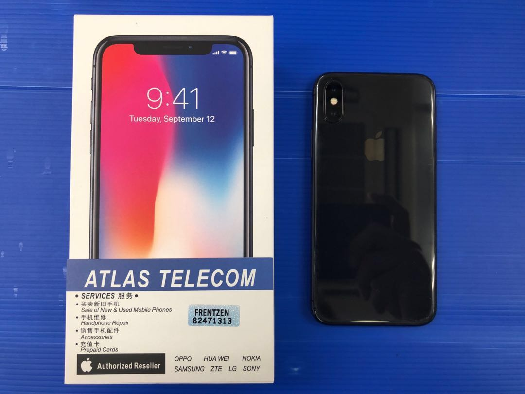 size 40 d096a f1c3a Apple iPhone X 64gb gray