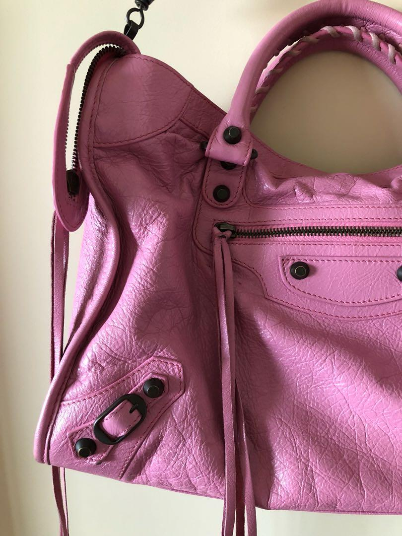 Balenciaga pink bag, from 2017, pre loved in very good condirion