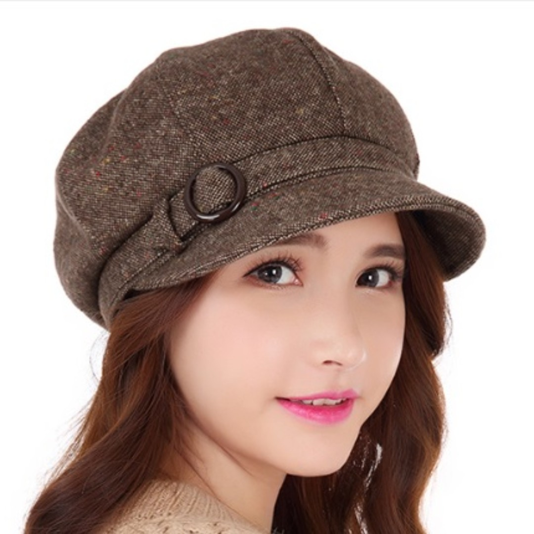 01ed8fe6f38 Beret Style Ladies Winter Hat