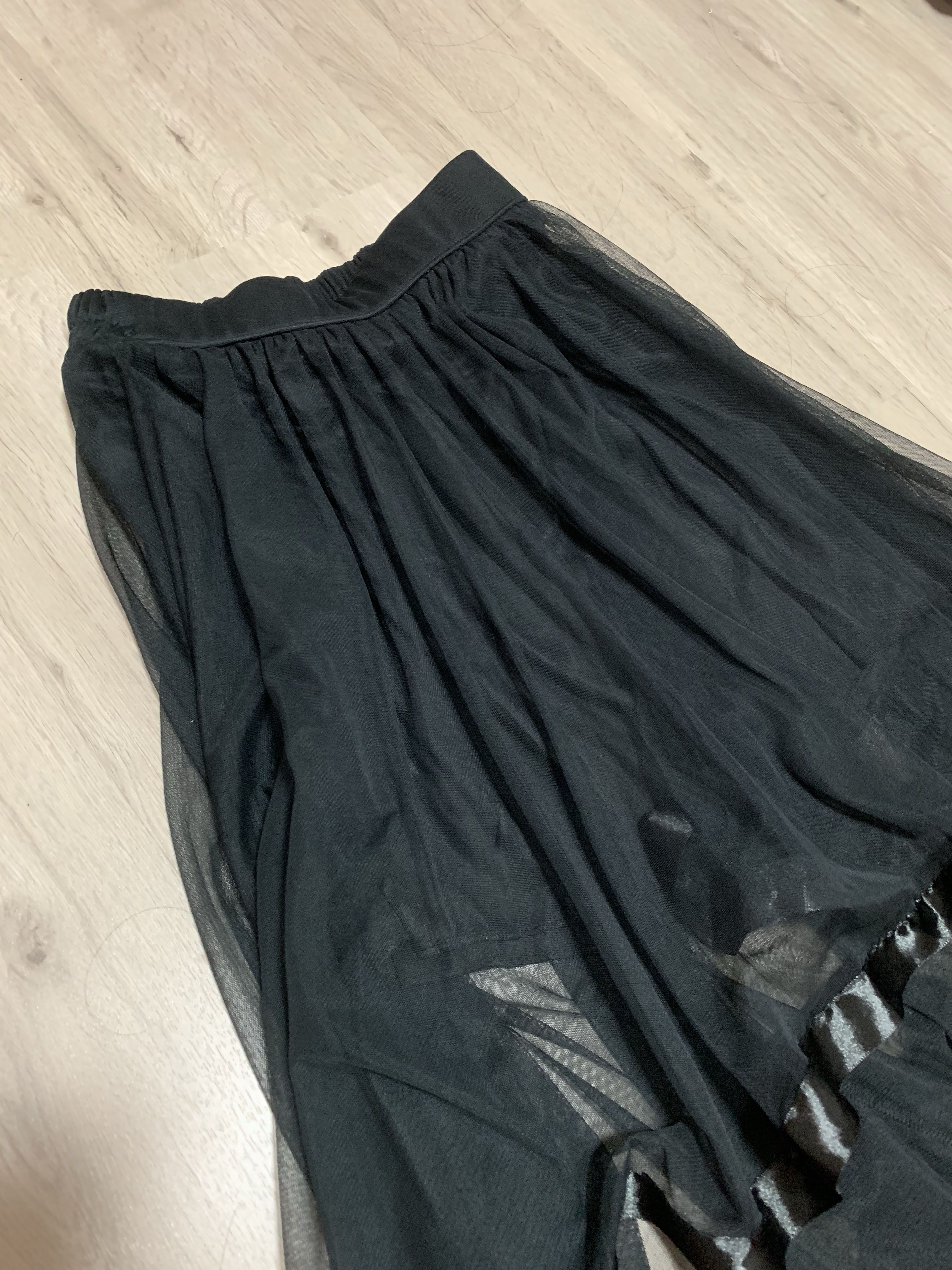 e8eca4318 Black chiffon maxi skirt, Women's Fashion, Clothes, Dresses & Skirts ...