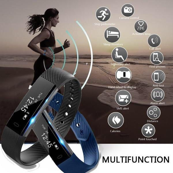 Bluetooth Sports Smart Bracelet for Android and IOS