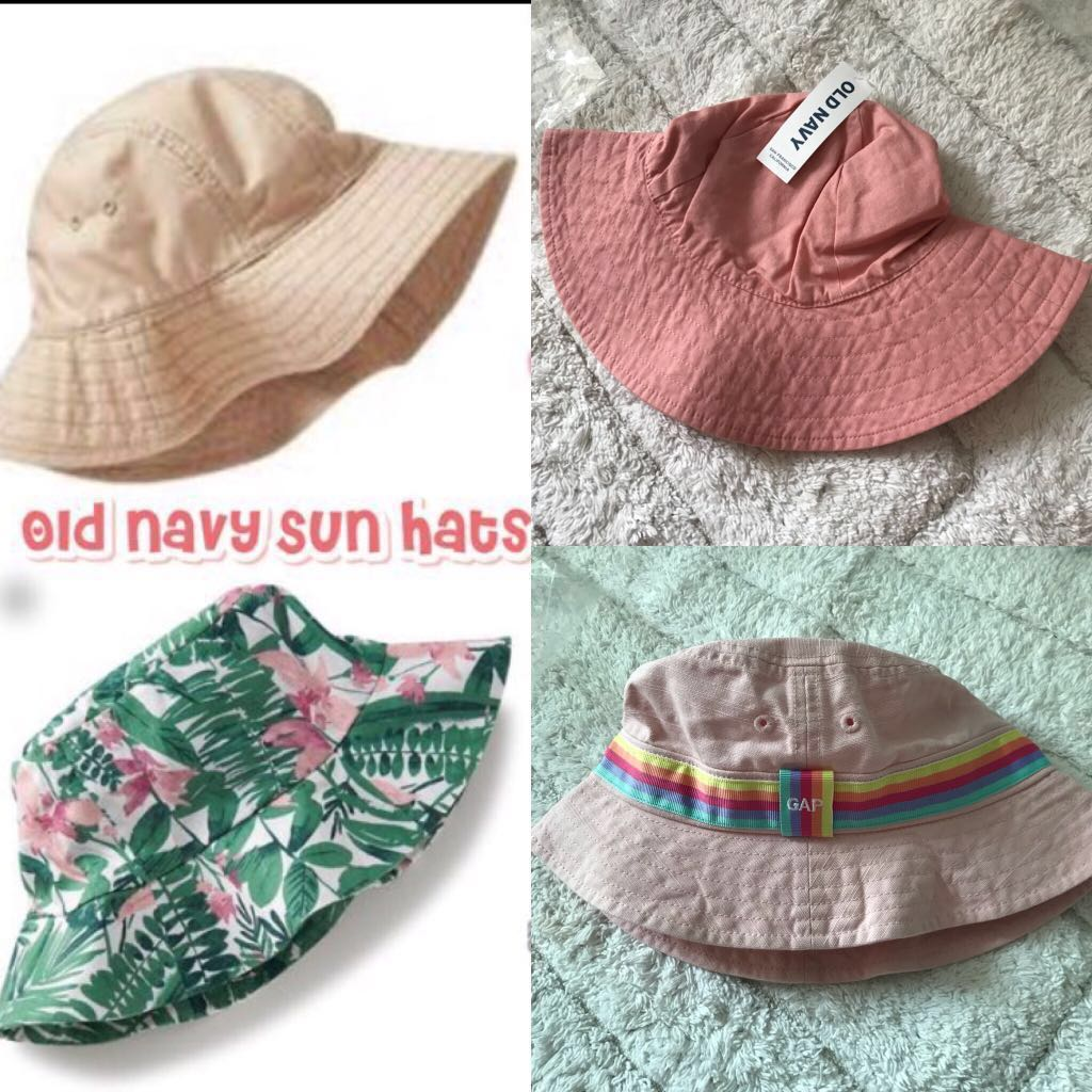 BN Old Navy GAP Toddler Sun Hats Bucket Hats 6-24 mths available! Size S M 9471c2681cd