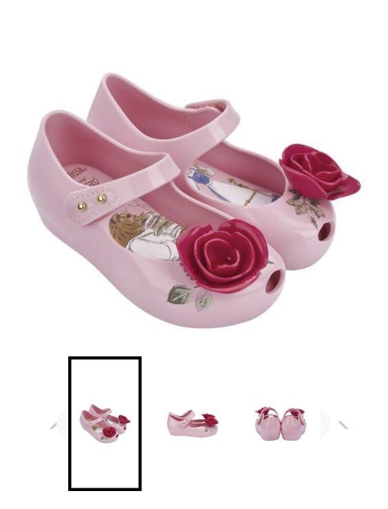 ca2c046fe BNIB Melissa Mini Ultragirl + Beauty and The Beast Bb US5, Babies ...
