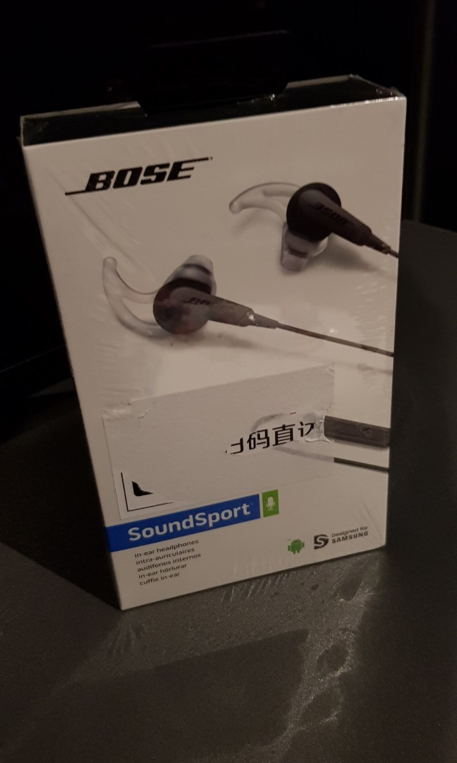 680c217745c Bose soundsport for Android, Electronics, Audio on Carousell