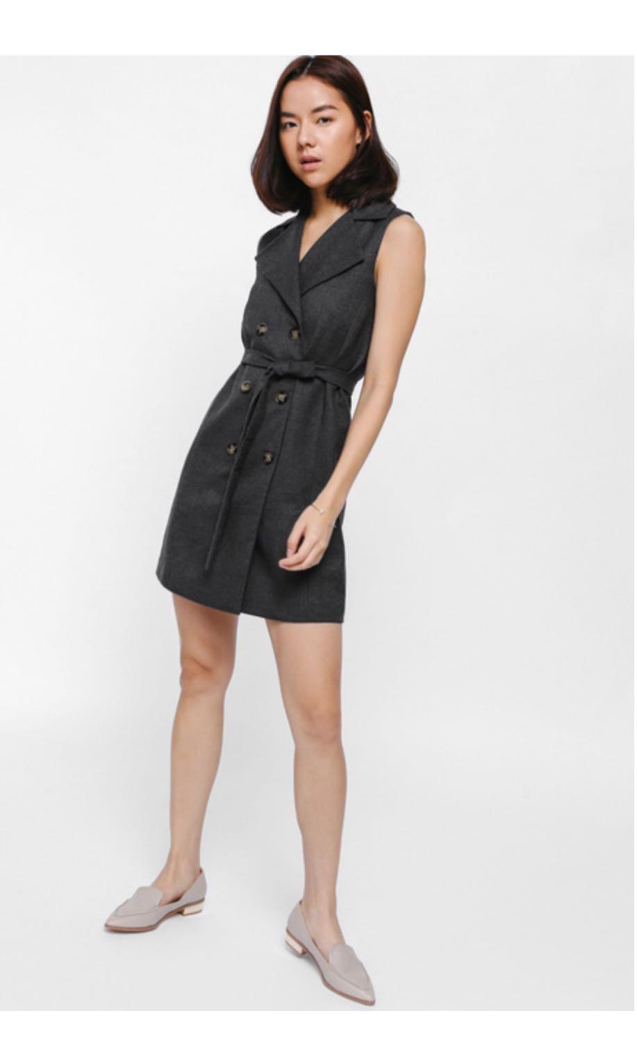 f82524e022 Brand new with tags Lovebonito Diafella Sash Vest Dress, Women's ...