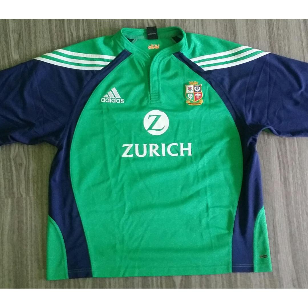 80e31d546c4 British & Irish Lions Rugby Adidas New Zealand 2005 tour Training ...