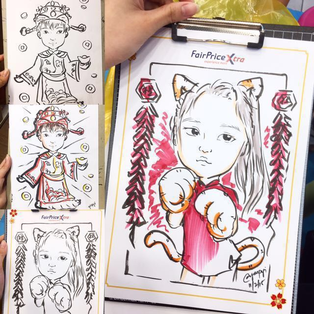 Caricature Artist For Hire Design Craft Art Prints On