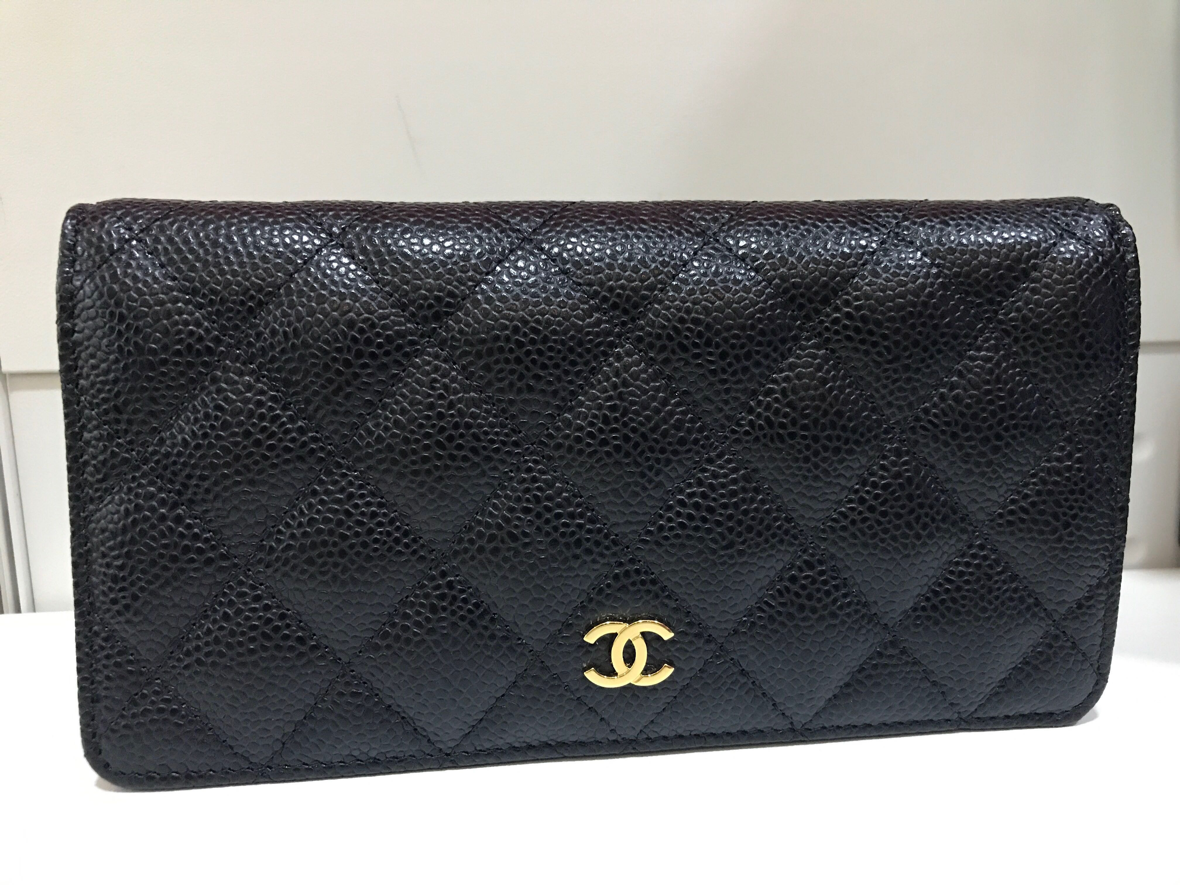 7d57bc2afd62 Chanel Bifold Classic Wallet Caviar, Luxury, Bags & Wallets, Wallets on  Carousell