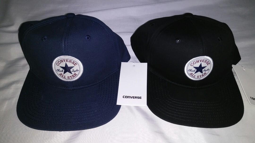 e7da7516 Converse Cap All Star Chuck Taylor, Men's Fashion, Accessories, Caps & Hats  on Carousell