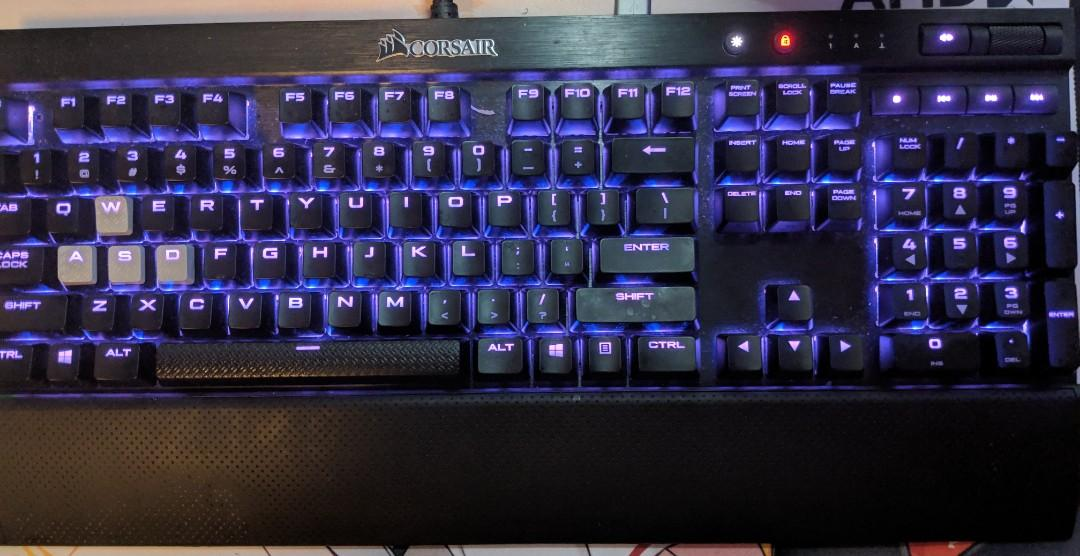 Corsair K70 Lux RGB Brown Switch, Electronics, Computer