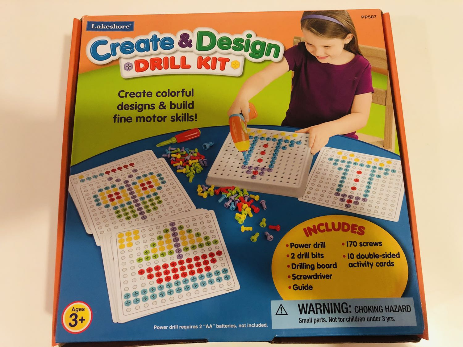 Create Design Drill Kit Babies Kids Toys Walkers On Carousell