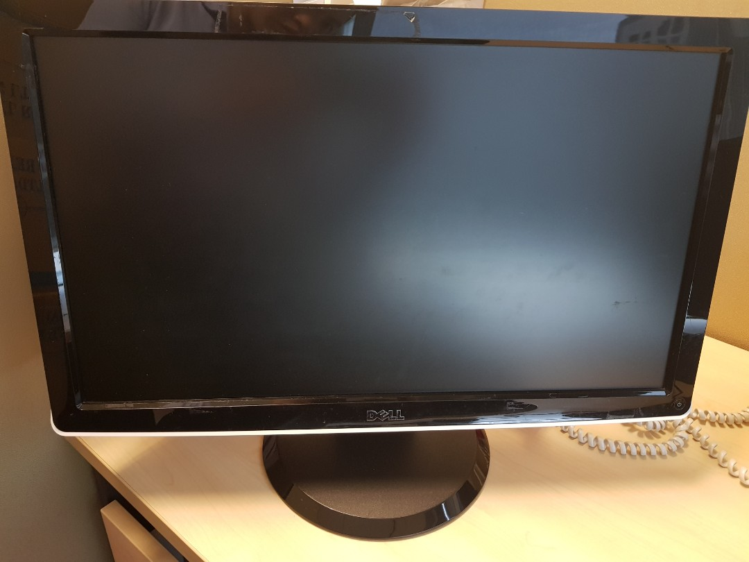 21 inch Dell monitor not working