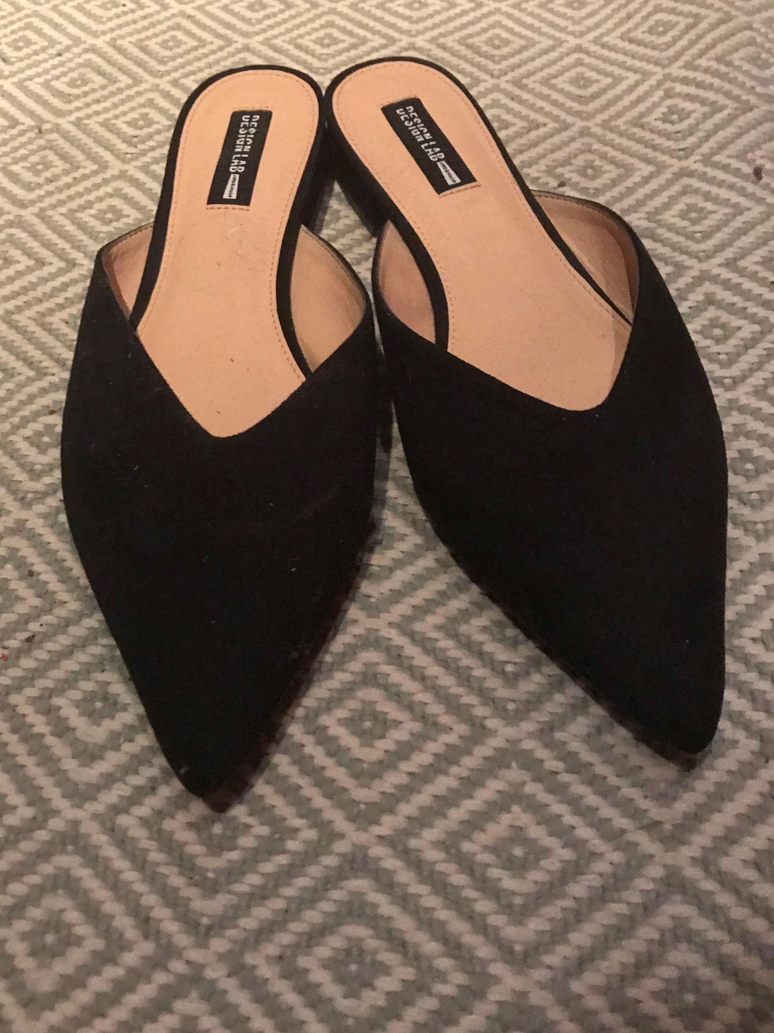 Design Lab Mules Size 9