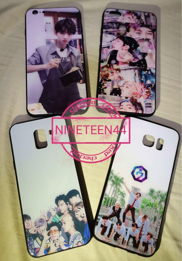 Diy Handphone Case K Pop Idol Bts Got7 Exo Black Pink Iphone