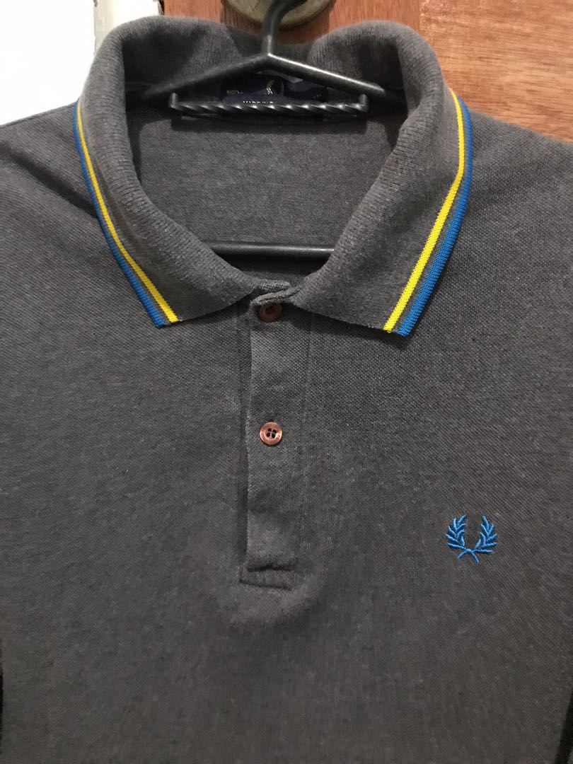 Fred Perry Polo Shirt, Men s Fashion, Clothes, Tops on Carousell 64c26bf2183