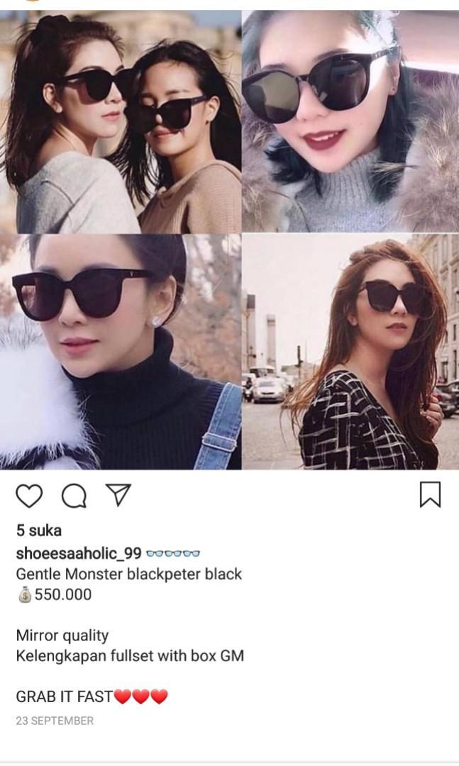 Gentle monster blackpeter