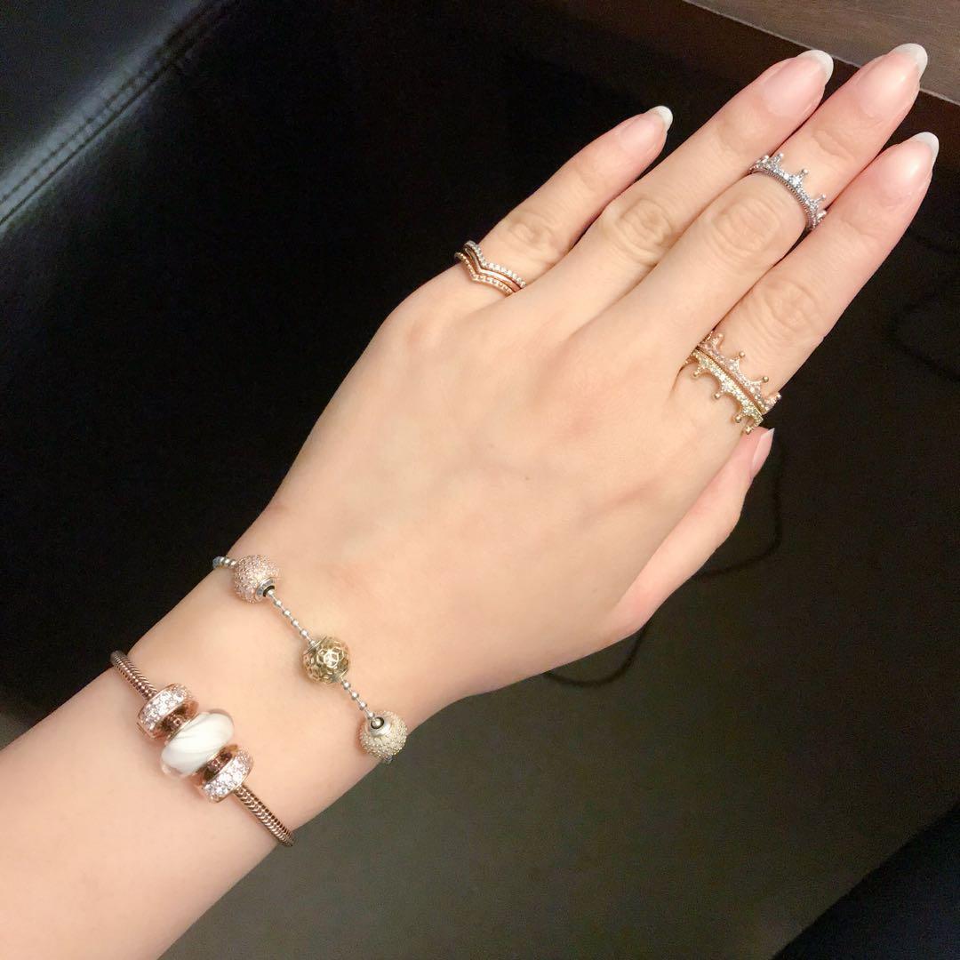 Genuine Pandora Shine Enchanted Crown Ring 167119CZ