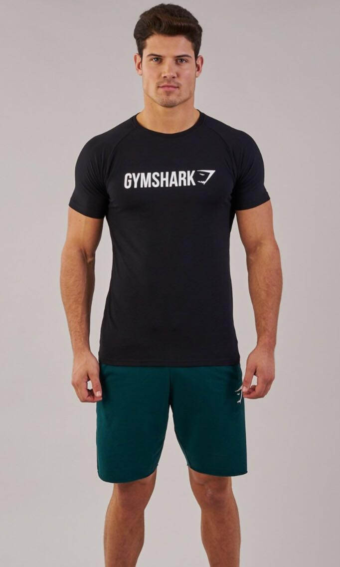 fcb1cdbd7f1 Gymshark Apollo T-Shirt (Black)