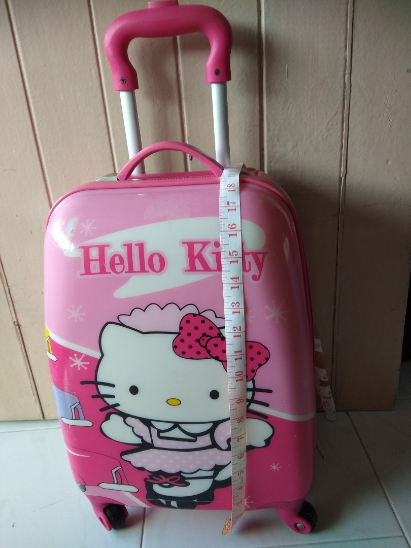 d9cd8c019 Hello Kitty Luggage, Travel, Travel Essentials, Luggage on Carousell