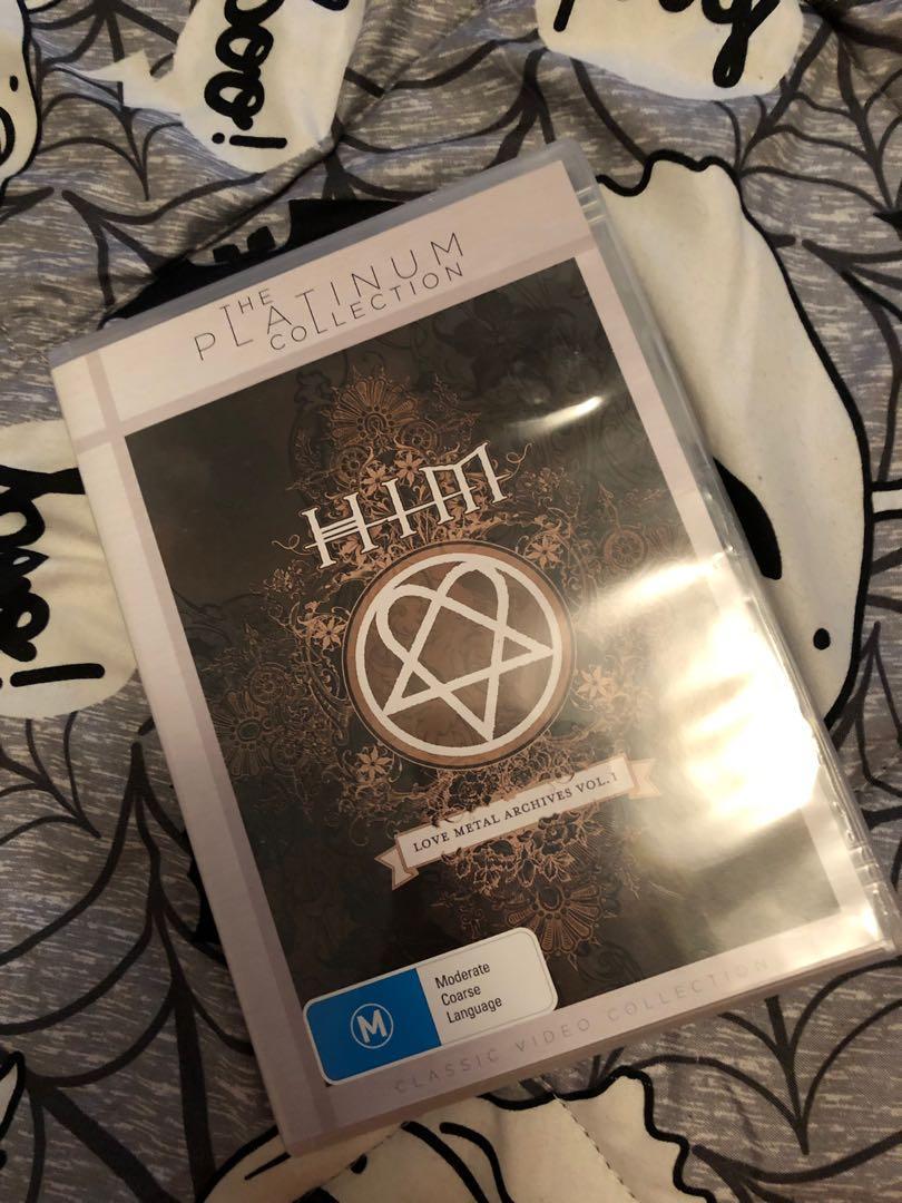 HIM Love Metal Archives DVD heavy metal rock emo music alternative