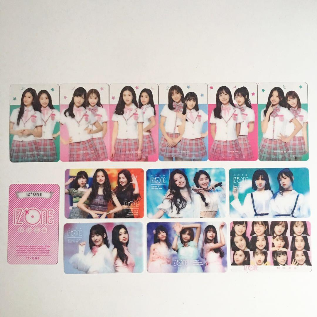 IZONE Transparent photocards!!, Entertainment, K-Wave on