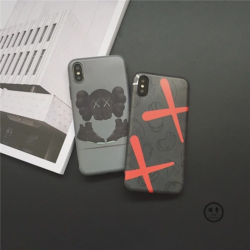 8b1be953437659 Kaws X Air Jordan 1 Soft TPU Phone Mobile Case Cover