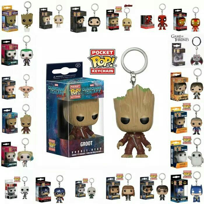 Keychain Collectible] - Marvel Guardian of the Galaxy Baby Groot