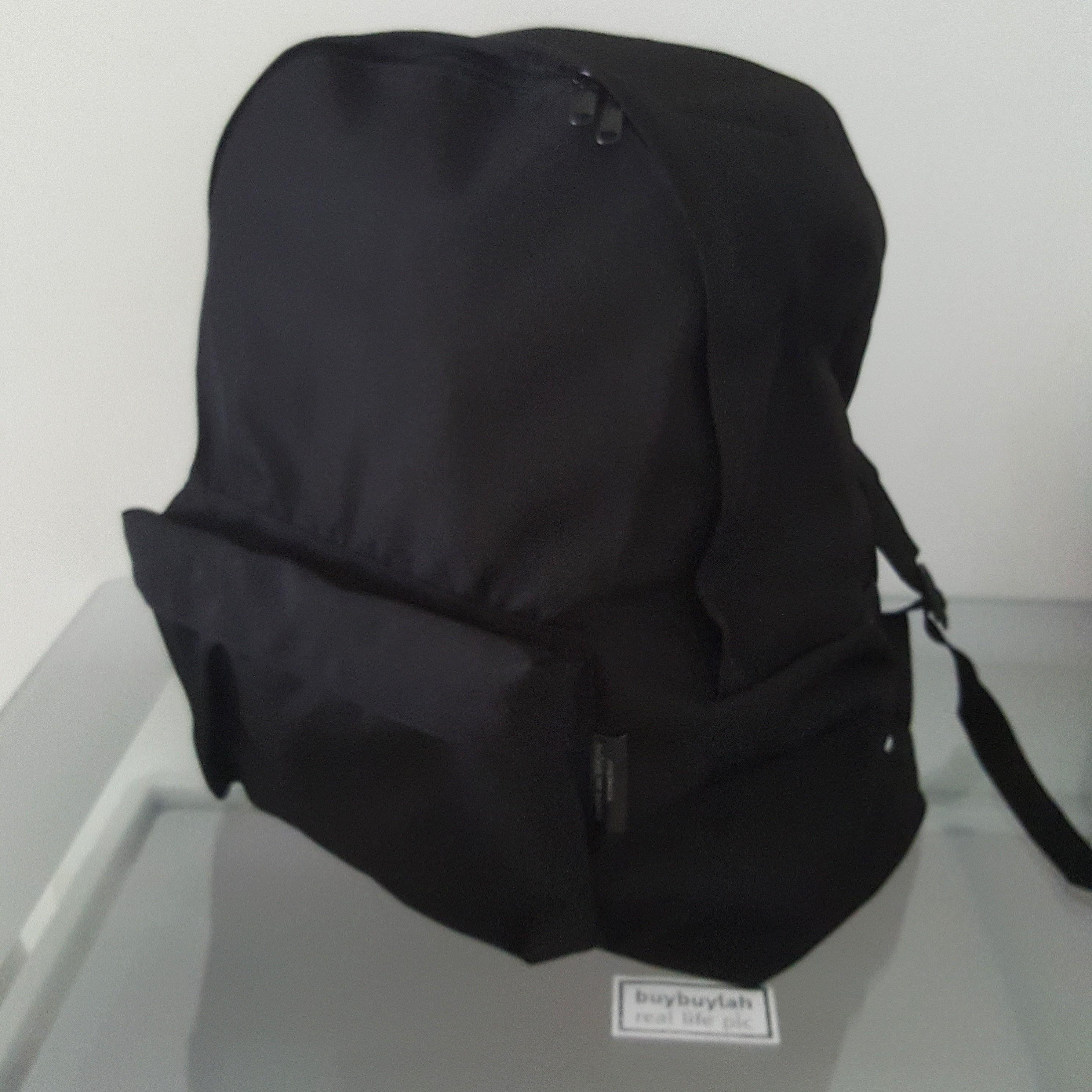 61d2275cf7 Large ○ CDG Black Backpack
