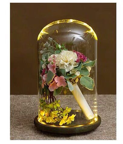 Large Glass Dome Jar Terrarium Furniture Home Decor Others On
