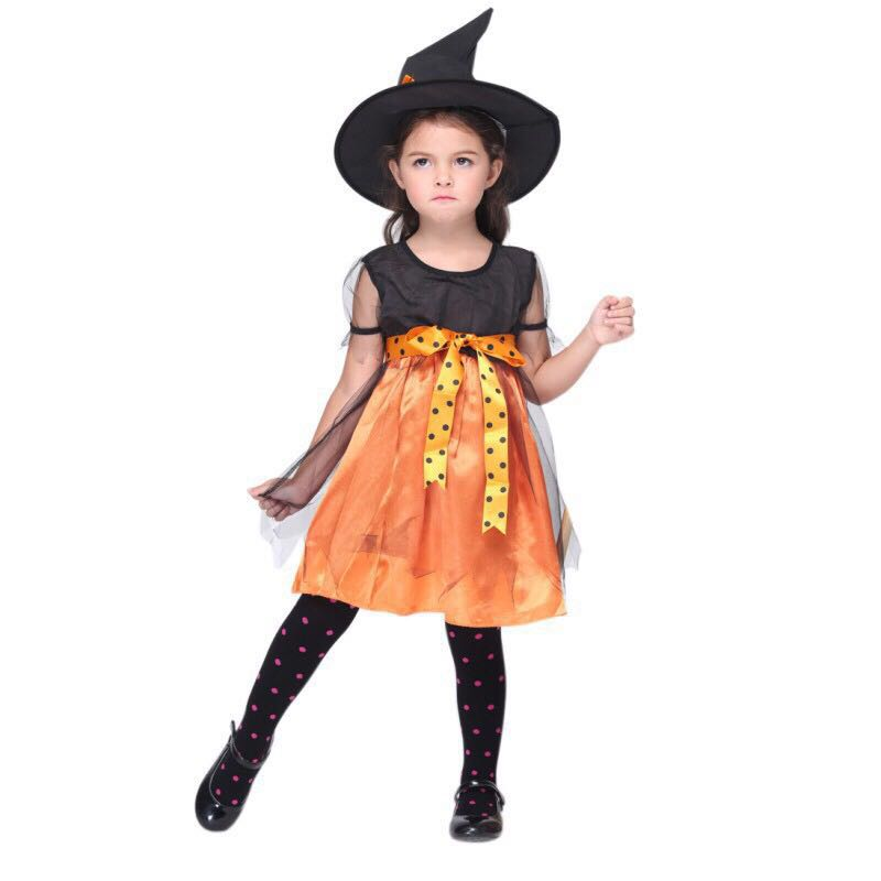 8c9699e3f Little Witch Costume, Babies & Kids, Girls' Apparel, 4 to 7 Years on ...