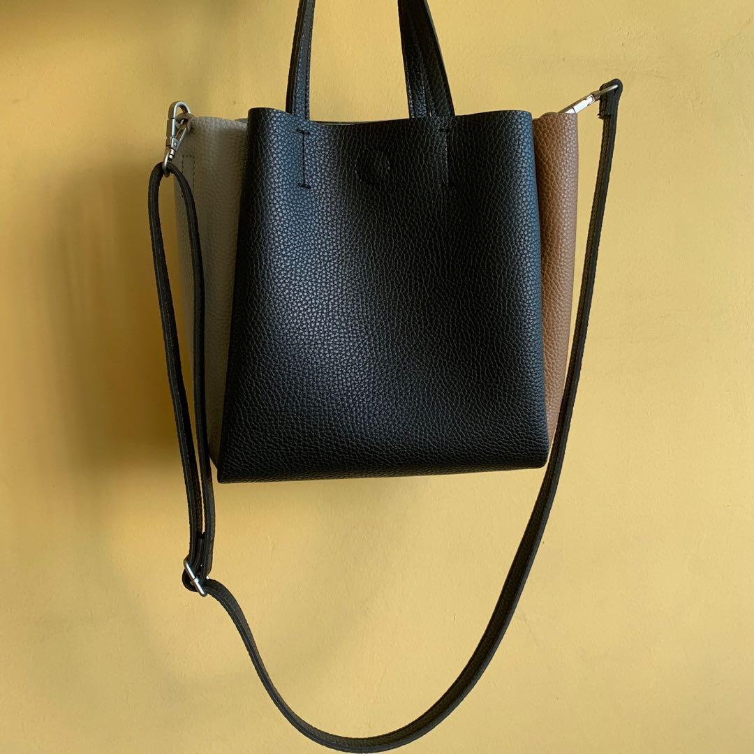 ad9d808bb3 MOEI colour block crossbody handbag, Women's Fashion, Bags & Wallets ...