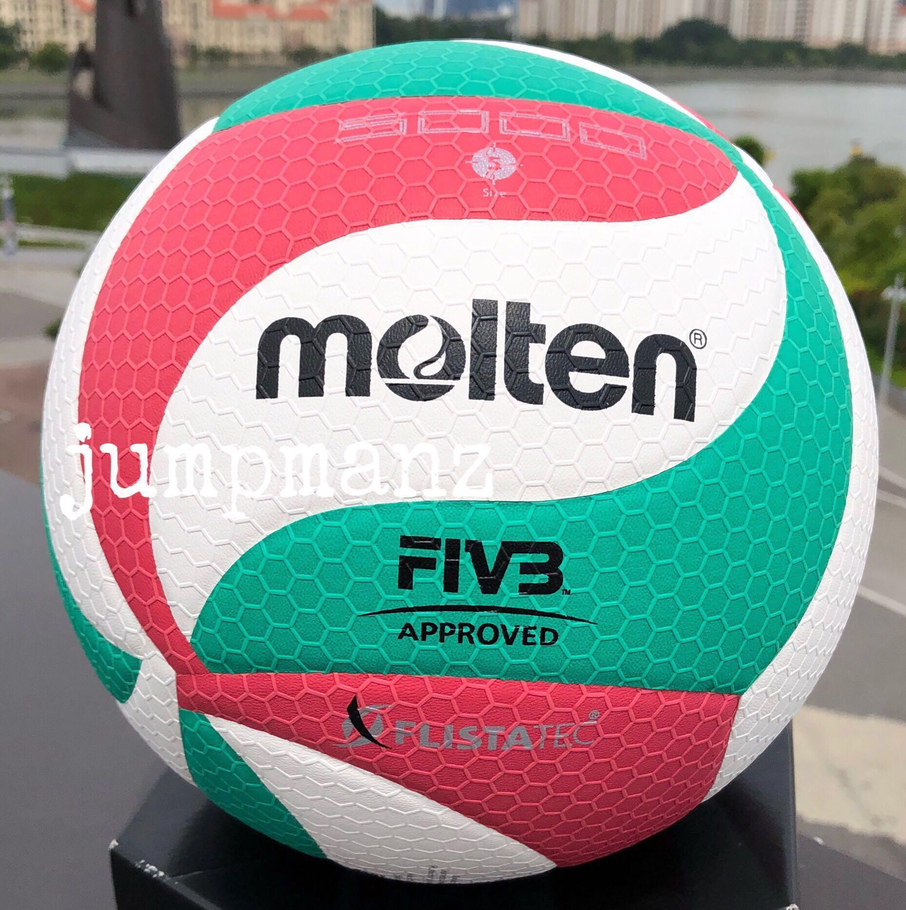 Molten V5m 5000 Seag Volleyball Free Delivery Brand New Sports Sports Games Equipment On Carousell
