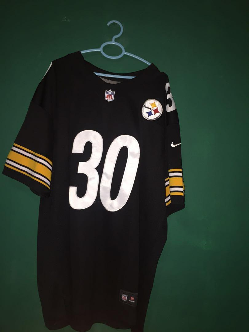 hot sale online e9d8a fcf36 NFL Pittsburgh Steelers Jersey - Oversize Vintage Top, Men's ...